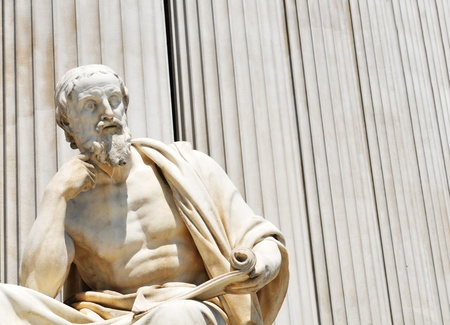 thinkers: Classicism Stock Photo