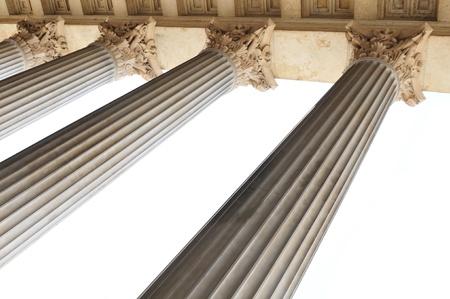 derecho romano: Columnas