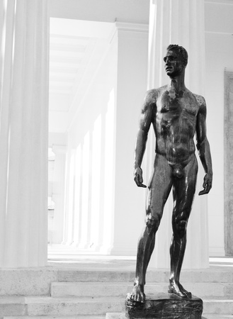 naked statue: Classicism  Stock Photo