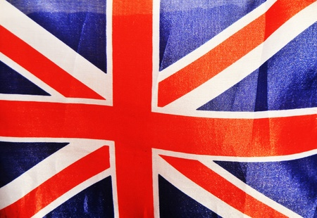 Vintage UK Union Jack flag  photo