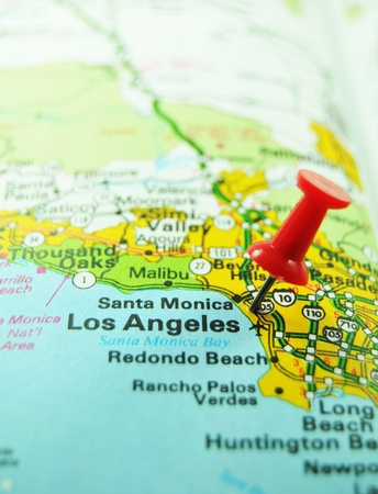 santa monica: Los Angeles  Stock Photo