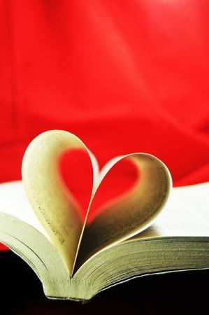 story book: Love story Stock Photo