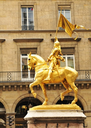 flagging: Statue in Paris  Stock Photo