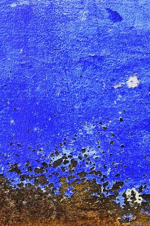 Blue paint texture photo