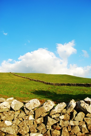 Yorkshire Dales: Landscape in Yorkshire Dales (UK) Stock Photo