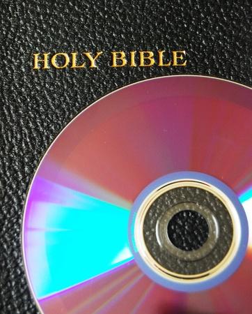 Bible on CDDVD photo