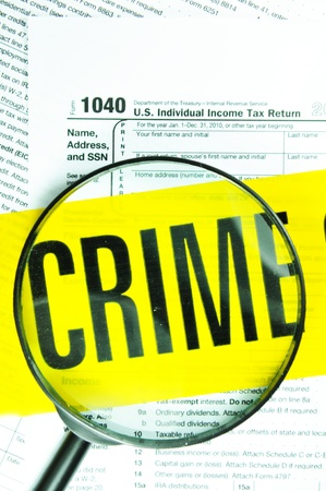 Tax evasion Stock Photo - 11280196