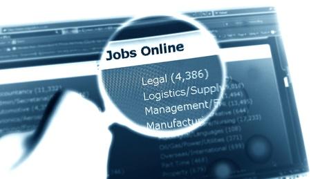 On-line jobs photo