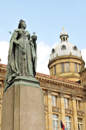Queen Victoria statue in Birmingham  photo