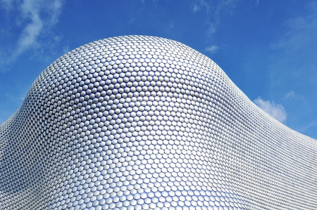 birmingham: Birmingham, UK - 20 Sept, 2011: Architectural detail of the Selfridges department store building in Birmingham  Editorial