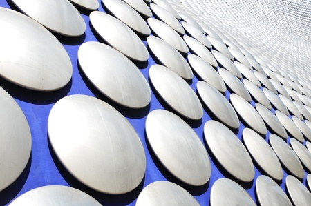 Birmingham, UK - 20 Sept, 2011: Architectural detail of the Selfridges department store building in Birmingham  Stock Photo - 11816808