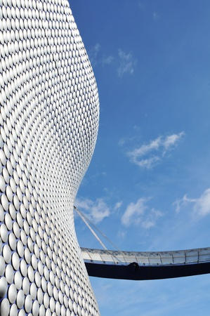 Birmingham, UK - 20 Sept, 2011: Architectural detail of the Selfridges department store building in Birmingham  Stock Photo - 11816813