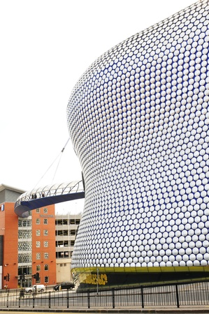 Birmingham, UK - 20 Sept, 2011: Architectural detail of the Selfridges department store building in Birmingham  Stock Photo - 11816818