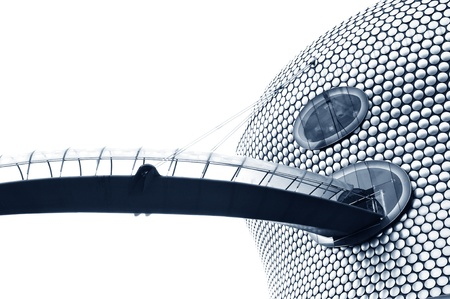 Birmingham, UK - 20 Sept, 2011: Architectural detail of the Selfridges department store building in Birmingham  Stock Photo - 11816807