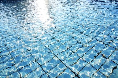 abstract aquarius: Swimming pool