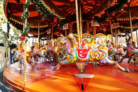 play the old park: Carousel