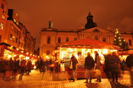 Christmas market in Scandinavia  Stock Photo - 12001519