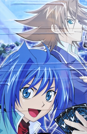 cartoons television: Tokyo, Japan - 2 January, 2012: Anime (manga) advertisement in Akihabara, major commercial district in Tokyo Editorial