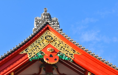 Japanese architectural detail Stock Photo - 13065379