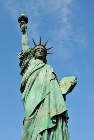 Frontal view of the Statue of Liberty Stock Photo - 13043382