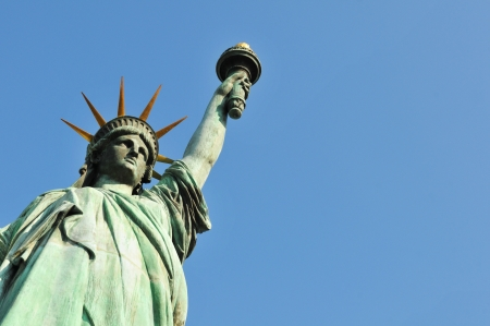 justice statue: New York, US