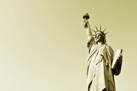 Vintage Statue of Liberty  photo