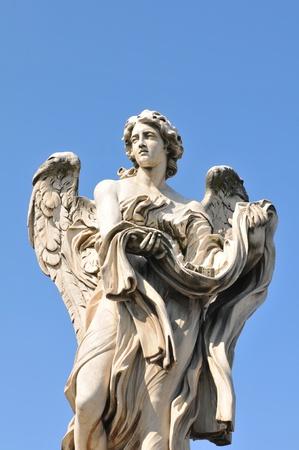 Stone angel  Stock Photo - 13260361