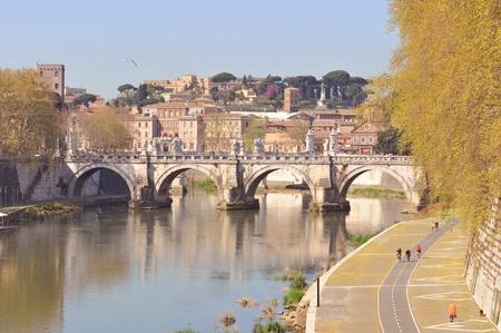 Medieval bridge photo