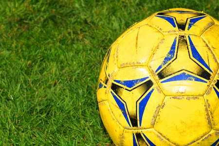 colored play: Football  Stock Photo