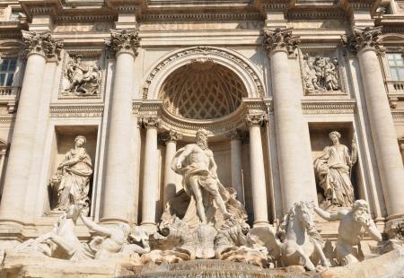 Fontana di Trevi, Rome photo