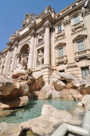 fontana: Fontana di Trevi, Rome  Italy
