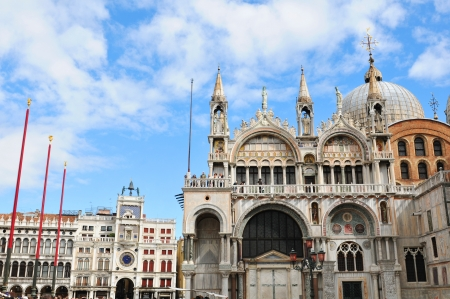 marco: San Marco square, Venice  Italy  Stock Photo