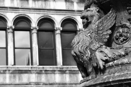 leon con alas: Arquitectura veneciana
