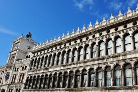 procuratie: San Marco square, Venice  Italy  Stock Photo