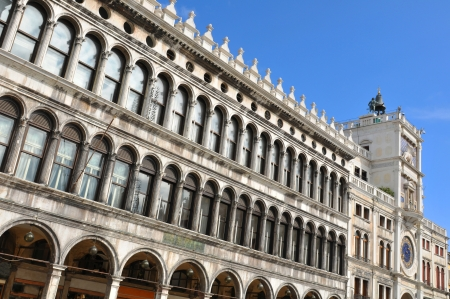 vecchie: San Marco square, Venice  Italy  Stock Photo