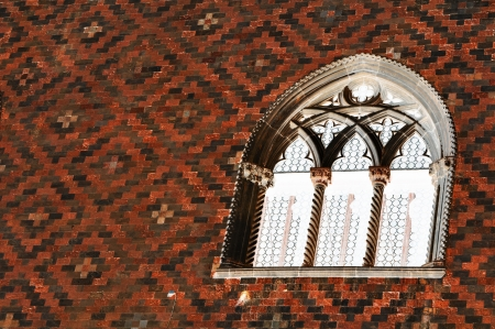 gothic window: Abstract window