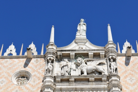 Architectural detail of the Doge s Palace, Venice
