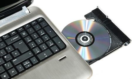 Laptop CD or DVD writer  photo