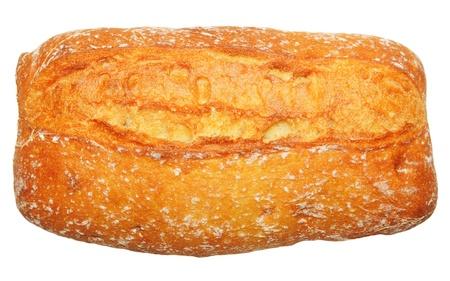 alimentary: Bread isolated  Stock Photo
