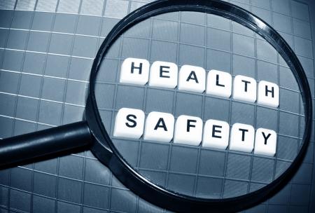 Health and safety Archivio Fotografico