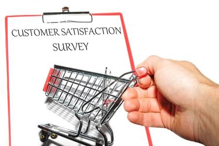 Customer survey photo