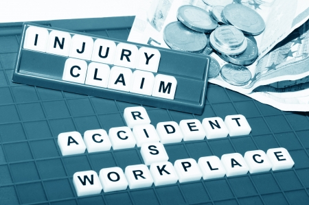 Injury claim  Stock Photo - 14456209