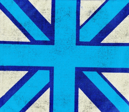 elective: Abstract UK flag  Stock Photo