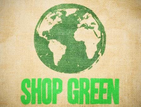 Shop green photo