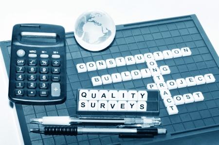 surveying: Quality surveying concept