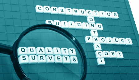 Quality surveying concept  photo