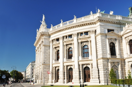 cultural history: Vienna, Austria - June, 2011: Architecture of the National Theater in Vienna, Austria
