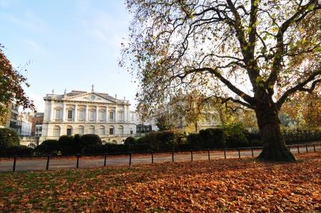 james: London, UK - November, 2012: Old mansion in St. James park in London
