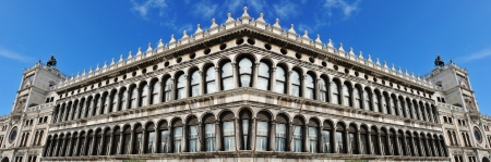 procuratie: Venice, Italy - 06 May, 2012:  Architectural detail in San Marco square in Venice, Italy