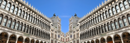vecchie: Venice, Italy - 06 May, 2012:  Architectural detail in San Marco square in Venice, Italy